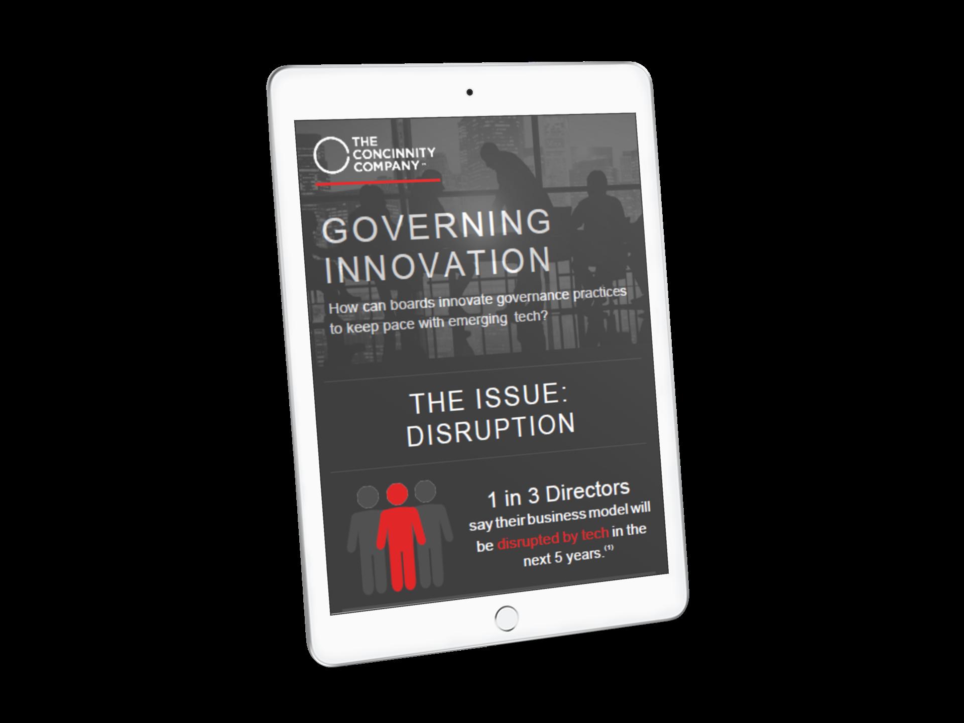 Governing Innovation angled